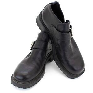 GBX-10M-EU-44-Black-Buckle-Boots