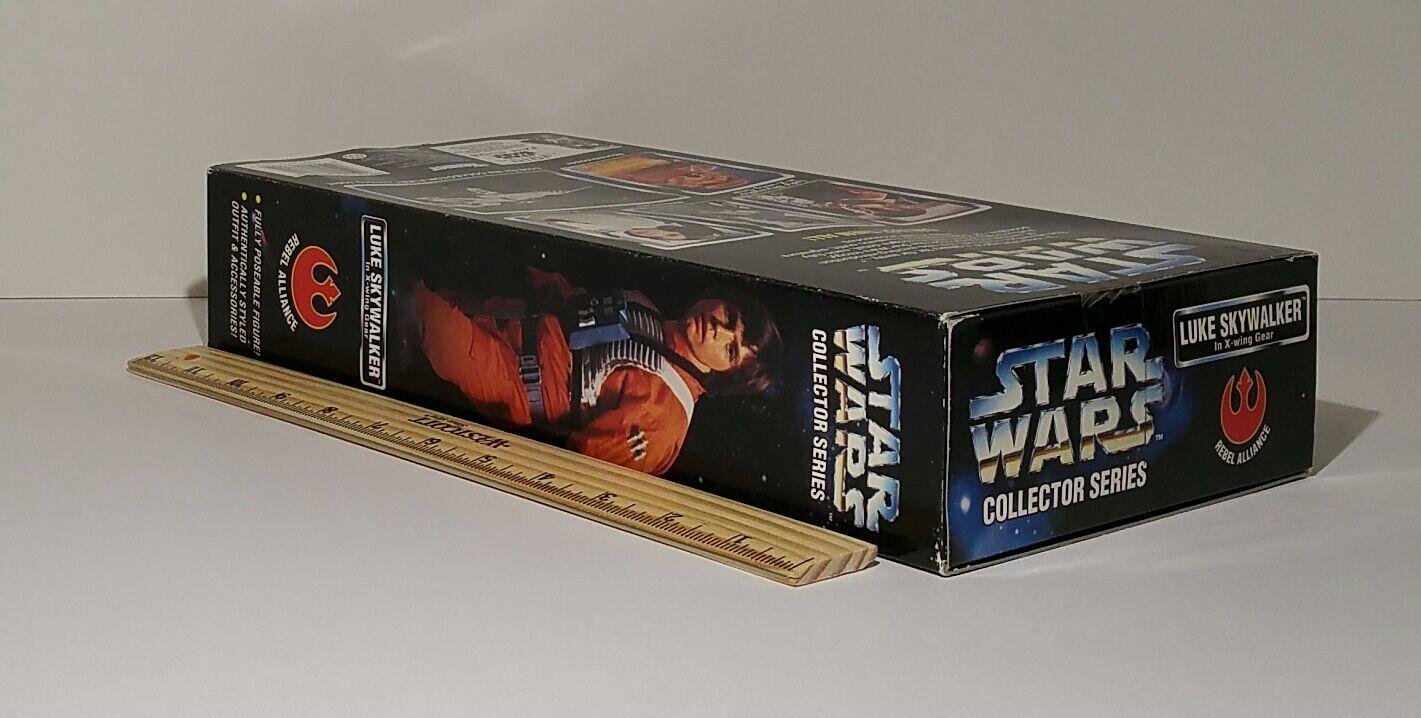 Star Wars Wars Wars Luke Skywalker X Wing Gear Collector Series 12 in figure 1996 5c37e4