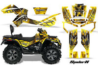 Can-am Outlander Max 500 650 800r Graphics Kit Creatorx Decals Stickers Sxy