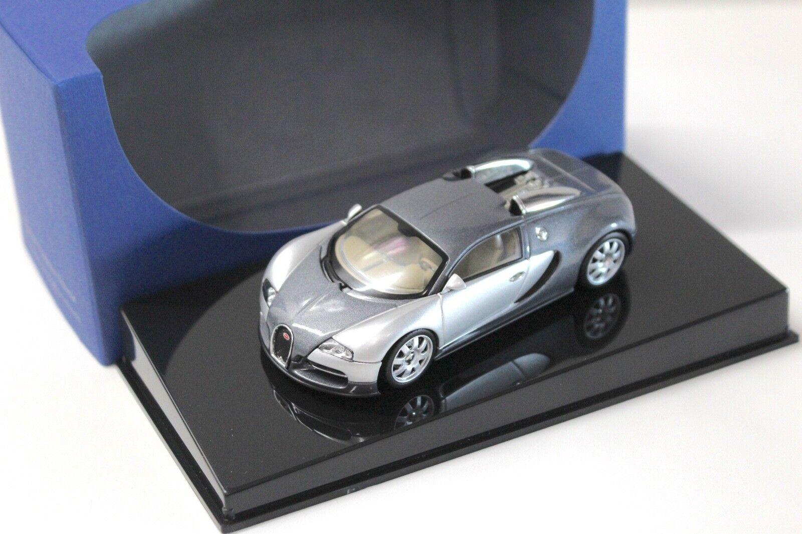 1 43 AUTOART BUGATTI EB 16.4 Veyron grigio  Showcar  New in Premium MODELCARS