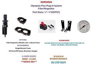NORGREN - Olympian Plus Plus-In System - Filter Regulators