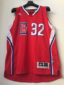 9d18e40b4  110 BLAKE GRIFFIN ADIDAS NBA LOS ANGELES CLIPPERS RED SWINGMAN ...