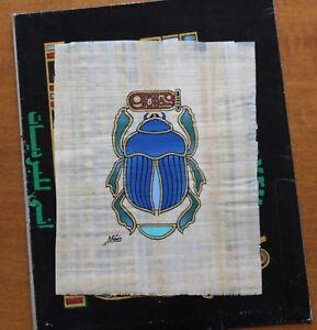 Scarabee-Original-sur-Papyrus
