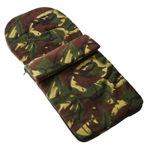 Fleece Footmuff Camouflage Cosy Toes Compatible with Venicci Silver