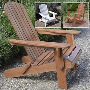 Adirondack-Chair-Outdoor-Garden-Acacia-Hardwood-Plant-Theatre-Seat