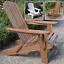 Adirondack-Chair-Outdoor-Garden-Acacia-Hardwood-Plant-Theatre-Seat thumbnail 1