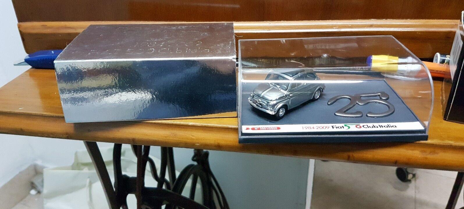 Brumm Fiat 500  club Italia 1984 -2009 25 anniversario anniversario anniversario 697098