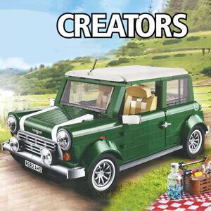 Lego-Mega-Block-10242-Creator-COMPATIBIL100-Mini-Cooper-1077pz-SCATOLA-BULK-NEW