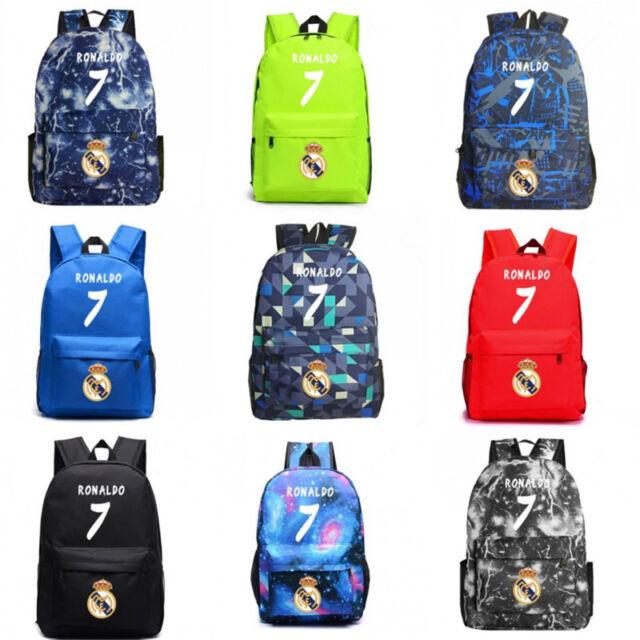 Football TEAM KIT COLOURS  Manchester Supporter unisex backpack rucksack bag