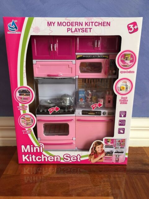 Kids Childrens Pretend Role Play Toy Mini Chef Kitchen Utensils