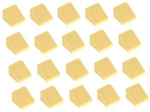 54200 NEW!!! Lego 20x Tan Slope 1x1x2//3