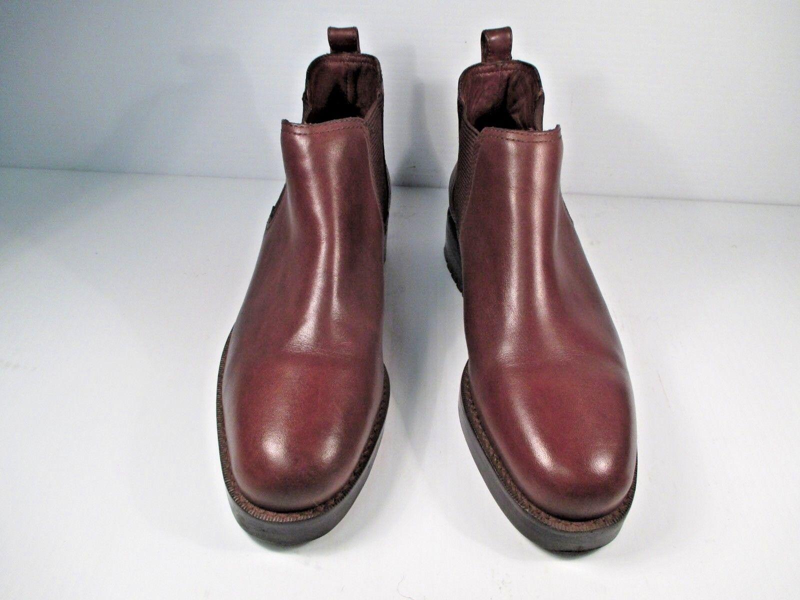 Marronee Leather Chelsea stivali Ralph Lauren Dimensione US 6 B