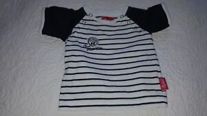 Sigikid-Shirt-Gr-56-neu-Maritim-Style