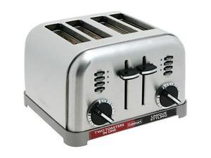 Cuisinart Compact 4 Slice Toaster Cuisinart CPT-180 White 86279003775 | eBay