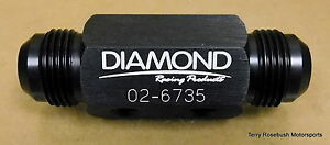 Diamond-Racing-02-6735-Dry-Sump-Manifold-Fitting-12AN-Male-2-1-8-034-NPT-Female