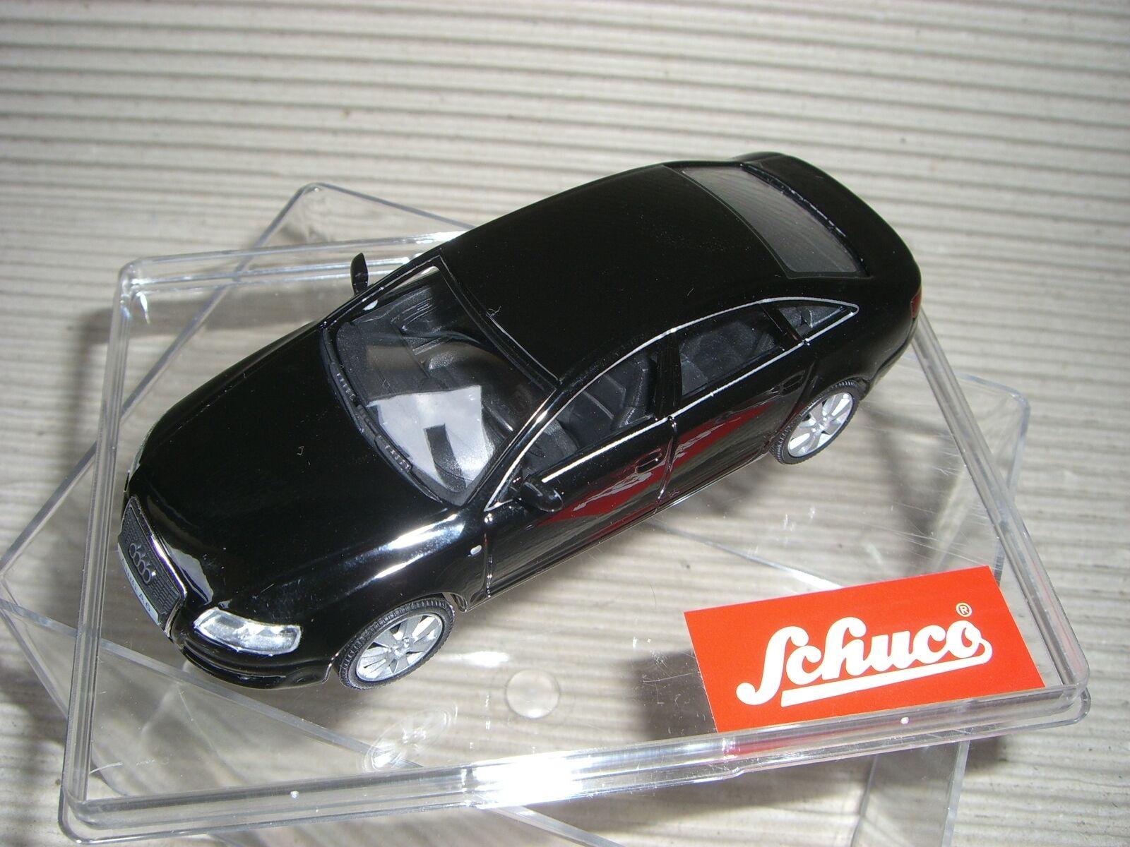 Schuco Audi a 6 3.2 Negro Negro Negro Antiguos Schuco Serie 1 43 27273 004cd0