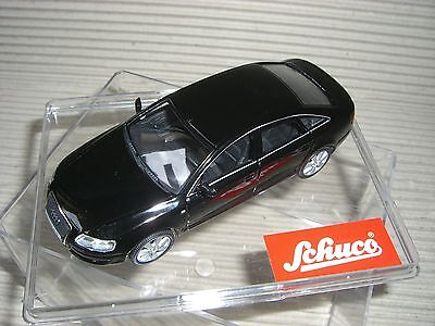 Schuco Audi A 6 3.2 Schwarz ältere Schuco Serie 1:43 27273 Reine WeißE Modellbau