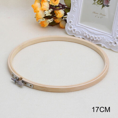 Wooden Embroidery and Cross Stitch Hoop Ring 13-27cm