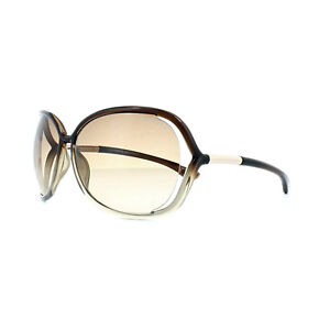 2288146b26 Image is loading Tom-Ford-Sunglasses-0076-Raquel-38F-Bronze-Brown-