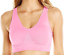 thumbnail 1 - Cabales Women's 3-Pack Seamless Wireless Sports Bra W/Removable Pads 3 Colors L