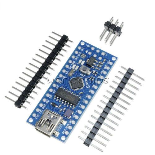1//2//5//PCS USB Nano V3.0 Atmega 168 CH340G Mini USB compatible Arduino Nano