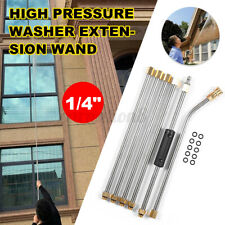 6pc 14 High Pressure Washer Extension Spray Lance Wand Nozzle With 10x