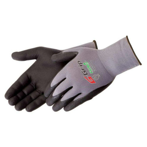 Work Gloves Liberty G-Grip  Foam Nitrile Micro Foam-Palm Coated  F4600 12 PAIR