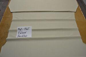 1963 63 1964 64 1965 65 FORD FAIRLANE 4 DOOR SEDAN BLACK HEADLINER USA MADE