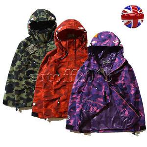 Purple bape jacket