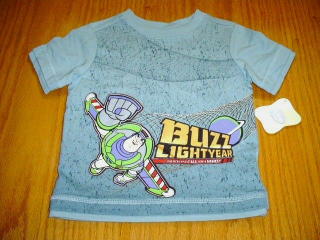 Disney Boys Toy Story T-Shirt Buzz Lightyear