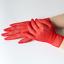 Gants-courts-rouges-en-resille-chainettes-sur-le-dos-de-la-main-pinup-retro-glam miniature 4