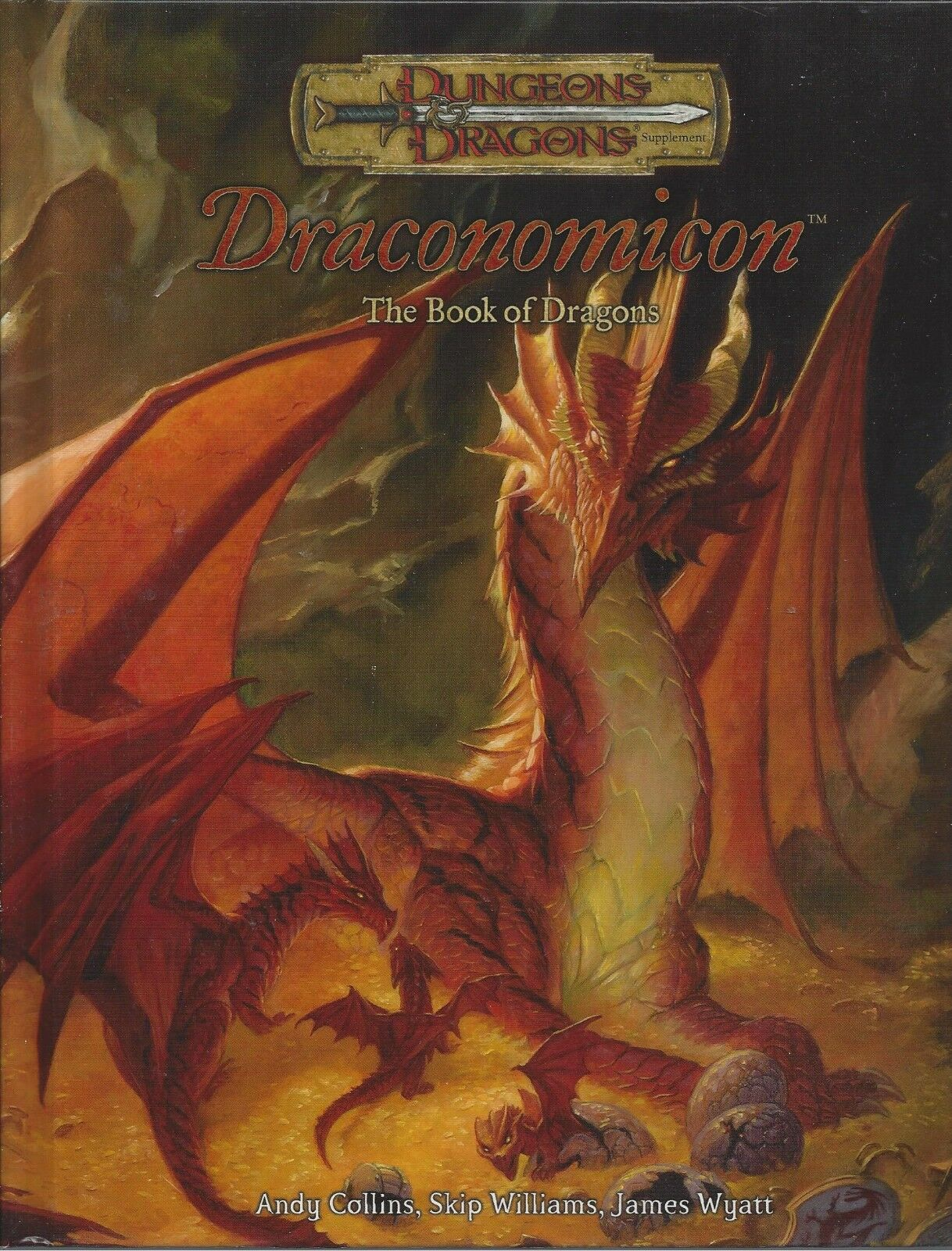Dungeons & Dragons RPG  Draconomicon HC 3.0 3.0 3.0 OOP NEW  FREE PRIORITY dd0a12