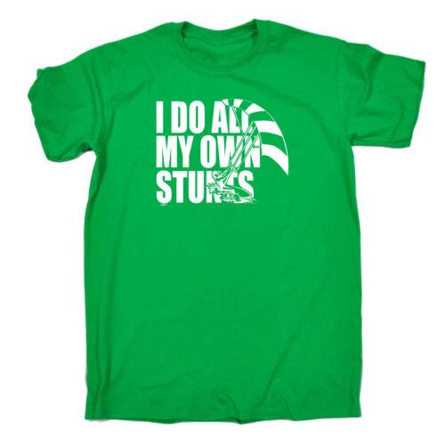 Funny Kids Childrens T-Shirt tee TShirt Own Stunts Kitesurf