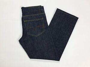 Insider-W30-tg-44-jeans-uomo-gamba-dritta-boyfriend-usati-blu-straight-fit-T1393