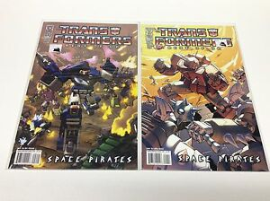 Idw Space Pirates #1-5 Set Comic Books Best Of Uk The Transformers