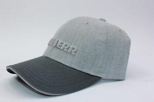 Liebherr schwarz graues Cap für Erwachsene UNISEX Kleding en accessoires