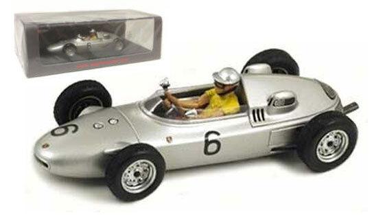 Spark s1867 PORSCHE 718   6 Monaco GP 1961-Hans Herrmann, échelle 1 43,