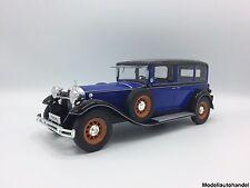 Mercedes Typ Nürburg 460  1928 blau/schwarz  - 1:18 MCG