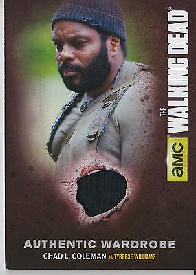 The Walking Dead Season 4//1 M19 Wardrobe Card Tyreese Williams