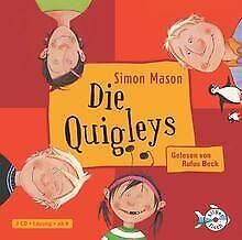 Die-Quigleys-2-CDs-von-Mason-Simon-Buch-Zustand-gut