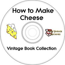 How To Make Cheese Vintage Book Collection on CD   - Learn How to Make Cheese