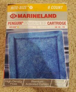 Marineland Penguin Rite-Size Cartridge B Bio-Wheel Power Filter (6 Count)