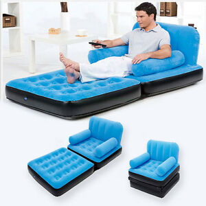 Image Is Loading Multi Max Inflatable Pull Out Sofa Couch Amp
