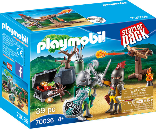 PLAYMOBIL® 70036 StarterPack fight for the Knights treasure - NEW 2019