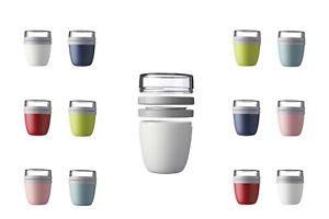 Mepal-Lunch-Pot-2er-Set-Mueslibecher-Lunchpot-To-Go-Becher-box-ver-Farben