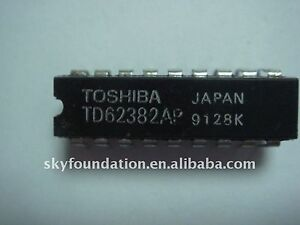 5Pcs TD62384AP IC 8CH LOW INPUT ACTIVE DARLINGTON SINK DRIVER NEW D46