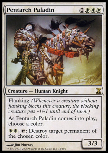 4 Pentarch Paladin ~ Lightly Played Time Spiral 4x x4 Playset UltimateMTG Magic