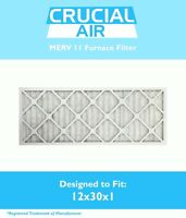 12x30x1 Merv 11 Allergen Air Furnace Filter