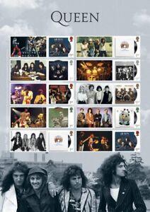 GB-2020-NEW-Queen-Album-Covers-Generic-Smilers-Sheet-GS-126-LS-124
