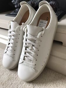 Clarks Nathan Lace Leather Trainers UK